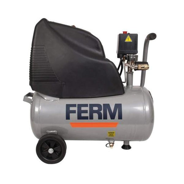 Ferm 24 Litre 1.5HP 1100W Oil Free Air Compressor CRM1042