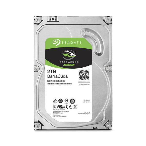 Seagate BarraCuda Hard Drive 2 TB ST2000DM008