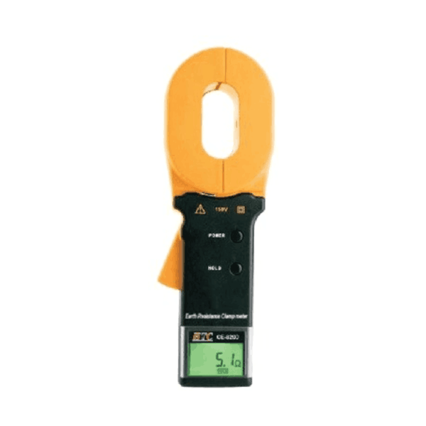 HTC Earth Clamp Meter Resistance Range 0.010 to 1200 Ohms  CE-8201