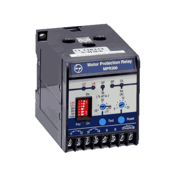 L&T Electronic Motor Protection Relay 240 V AC MPR300