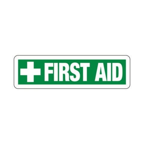Usha Direction Signagues Sticker First Aid S11 150x150mm (Pack of 5)