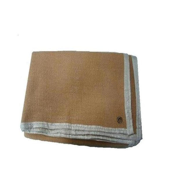 Darshan Ceramic Vermiculite Fiber Fire Blanket Light Brown 2 m x 1 m x 3 mm (Pack of 5)