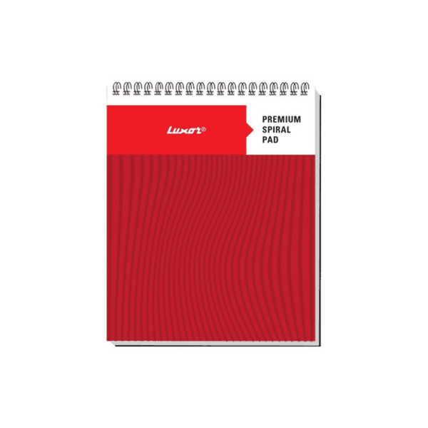 Luxor Top Bound Ruled Spiral Note Pad 20562 (Pack Of 200)