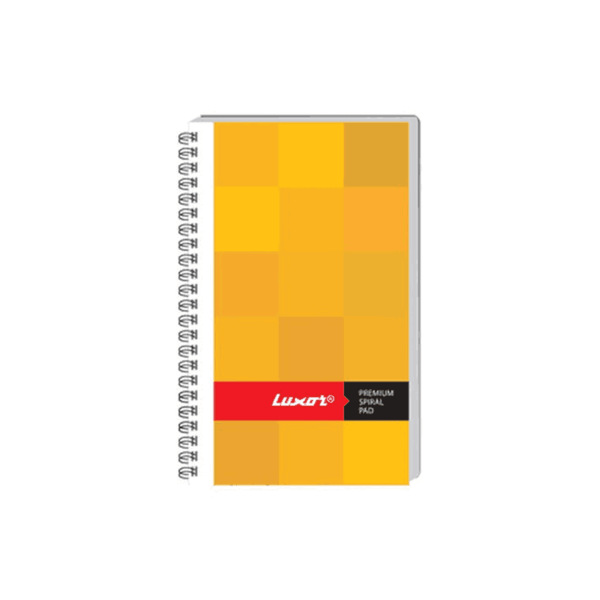 Luxor Side Spiral Note Pad 20556 (Pack Of 200)