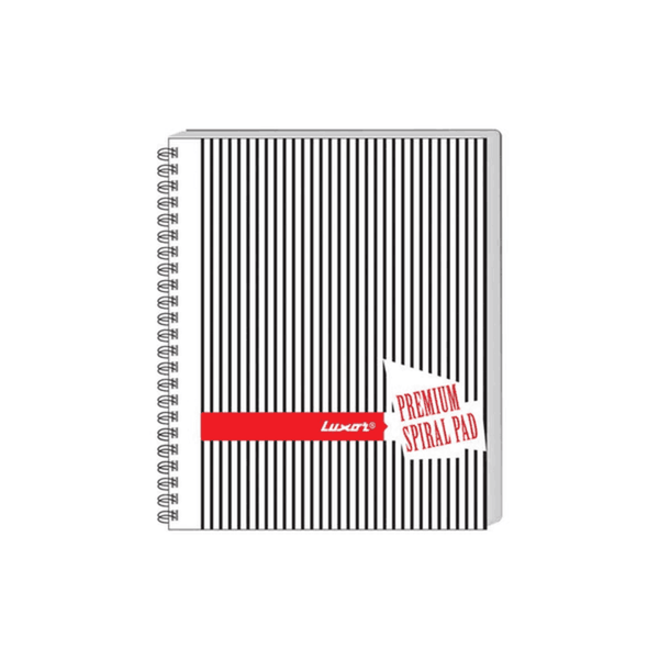Luxor Side Unruled Spiral Note Pad 20579 (Pack Of 200)