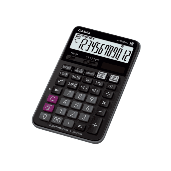 Casio Desktop Calculator (Black) JJ-120D Plus
