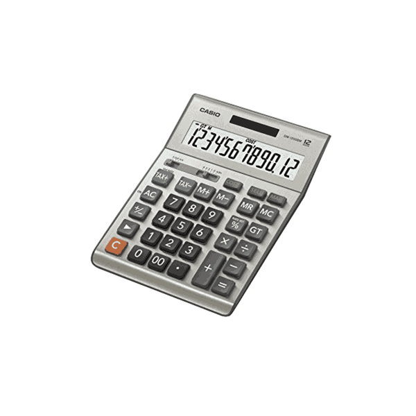 Casio Business Calculator (Grey) DM-1200BM