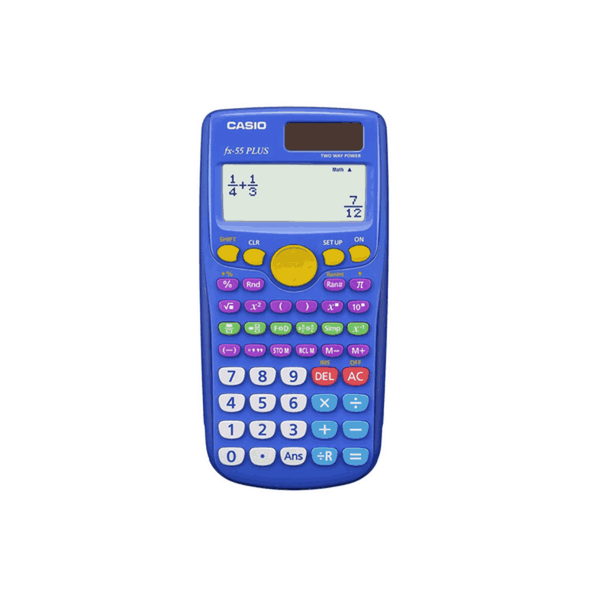 Casio Engineering / Scientific Calculator FX-55 PLUS