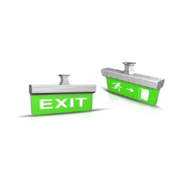 Maxigo 12 Watt LED Exit Sign With Battery Backup MODEL 3