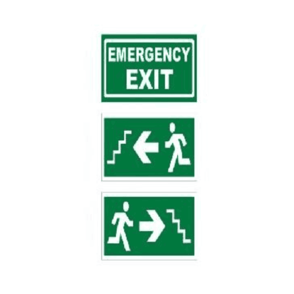 Maxigo 24 W Emergency Exit Safety Sign Board