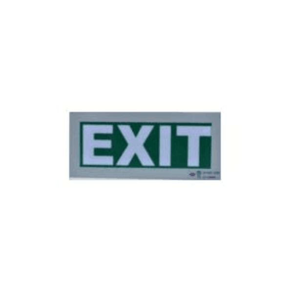 Maxigo Vinyl Green Exit Sign without Battery Backup RT-EXIT-V0/LO1