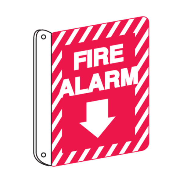 Maxigo Fire Safety Sign Sticker 150x200 mm (Pack Of 5)