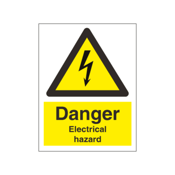 Maxigo Danger Electrical Hazard 20x15 cms (Pack Of 5)