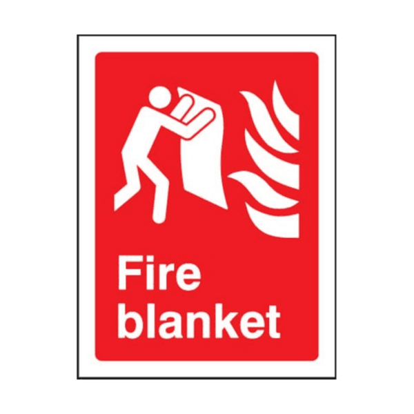 Maxigo Fire Blanket Sticker 150x200 mm (Pack Of 5)