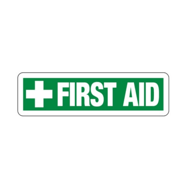 Maxigo First Aid  Sticker 390 x 140 mm (Pack Of 5)