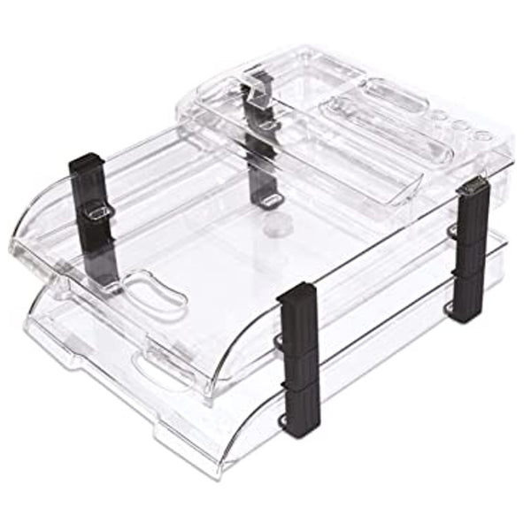 Omega Office Tray Executive with Top (Pack of 5)