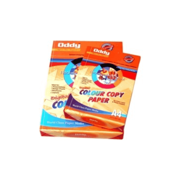 Oddy 100 GSM Colored Xerox Photo Copy Paper 500 Sheets DGCCA4500 (Pack of 100)