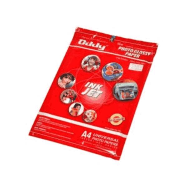 Oddy Double Side Photo Paper 185 GSM Size:297X210 HPGDS185A4-20 (Pack of 100)