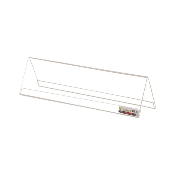 Rasper Acrylic Name Plate White 6x2.5 inches (Pack Of 100)