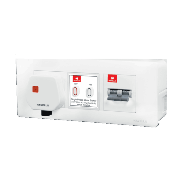 Havells SRCD WOCP Dboxx Steel Enclosure 16 A DHDDCDP025201603