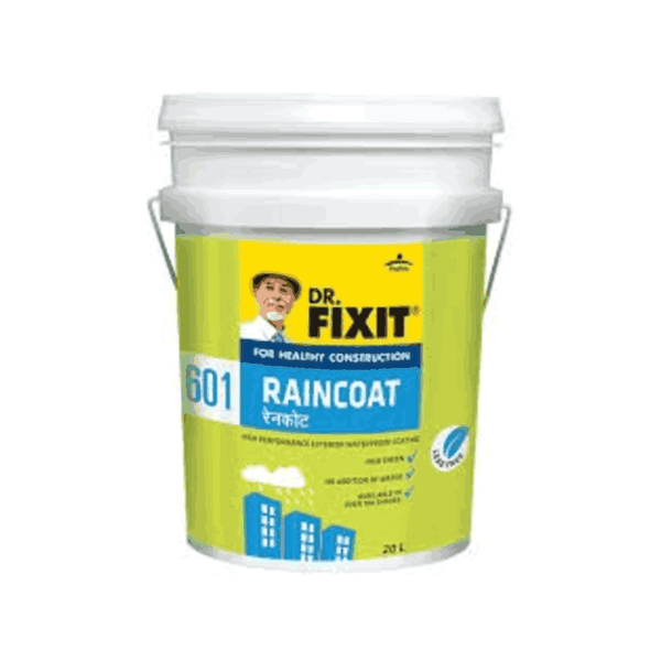 Dr. Fixit 19 Litre Raincoat Dark Base Acrylic Coating