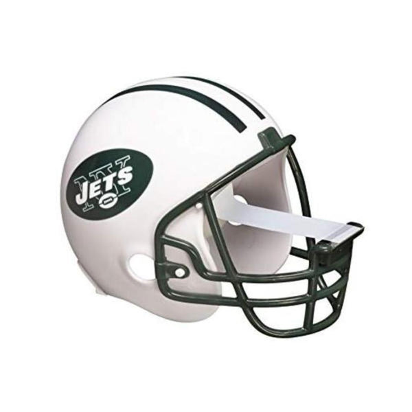 Scotch Magic Tape Dispenser New York Jets Football Helmet with 1 Roll of 3/4 x 350 Inches Tape
