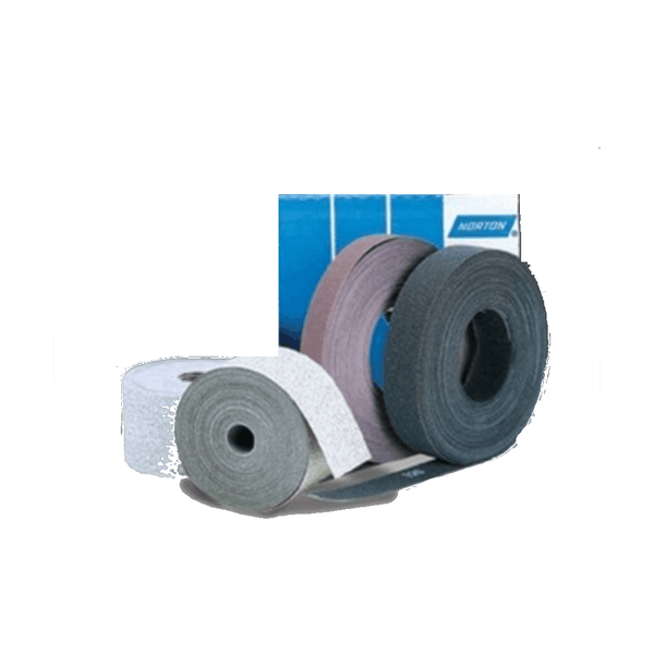 Norton GP107 Bear Premium R347 Width 100mm Length-50m Grit-120 Abrasive Cloth Rolls