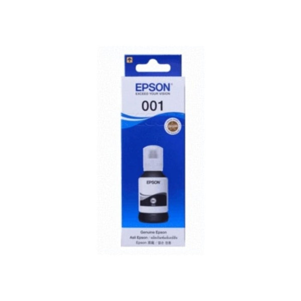 EPSON 127 ML INK BOTTLE BLACK 001