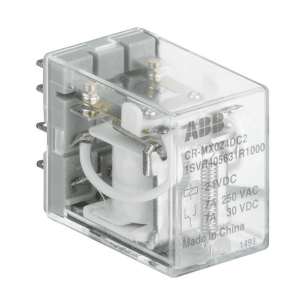 ABB Pluggable Interface Relay 4 c/o CR-MX range with LED