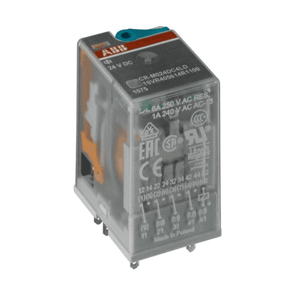 ABB 2 c/o Pluggable Interface Relay CR-M Range With LED