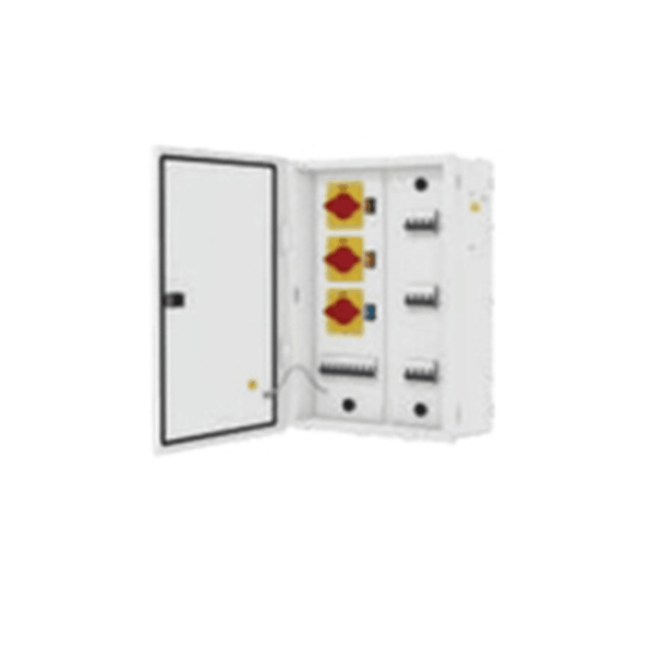 L&T TPN Phase Selector Distribution Boards Metal Door