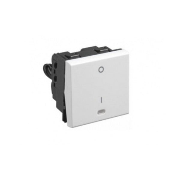 Legrand Myrius DP Switch With Indicator 230 V  20 A 1 Way 6730 13