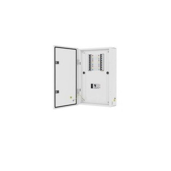 L&T Vertical TPN Distribution Board With MCCB Incomer Metal Door