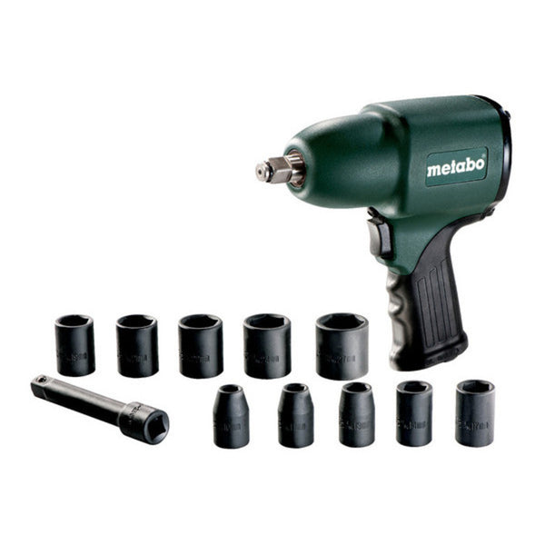 Metabo 1/2 Inch Impact Wrench Set DSSW 360