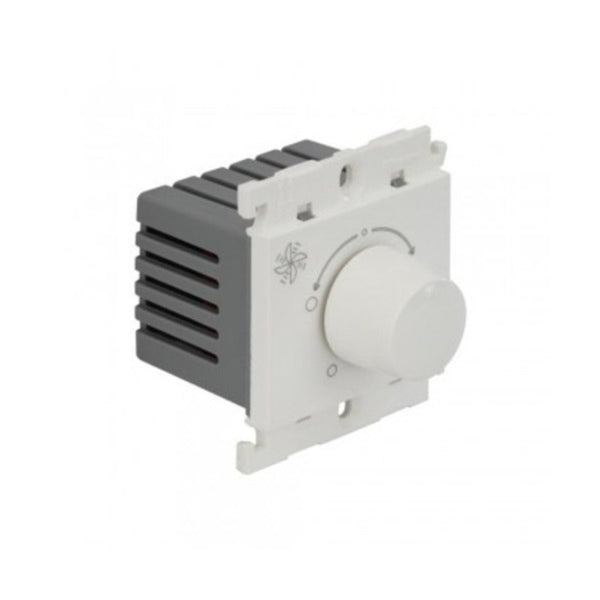 Legrand Myrius Fan Regulator With 360° Rotation 100 W 2 Module 6759 64