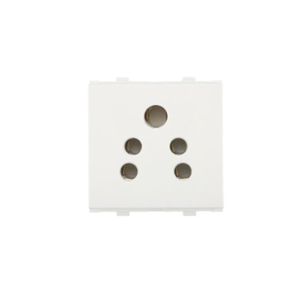 Anchor Penta 2in 1 Socket(W/O Shutter) 6A 2Module 65202