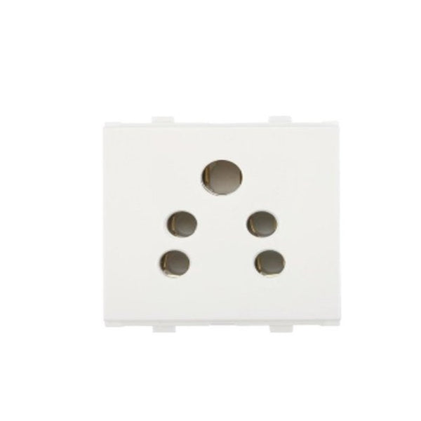 Anchor Penta 2in 1 Socket (With Shutter) 6A 2Module 65222