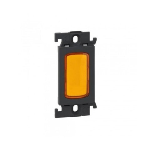 Legrand Myrius Indicator Light Orange 1 Module 6763 15