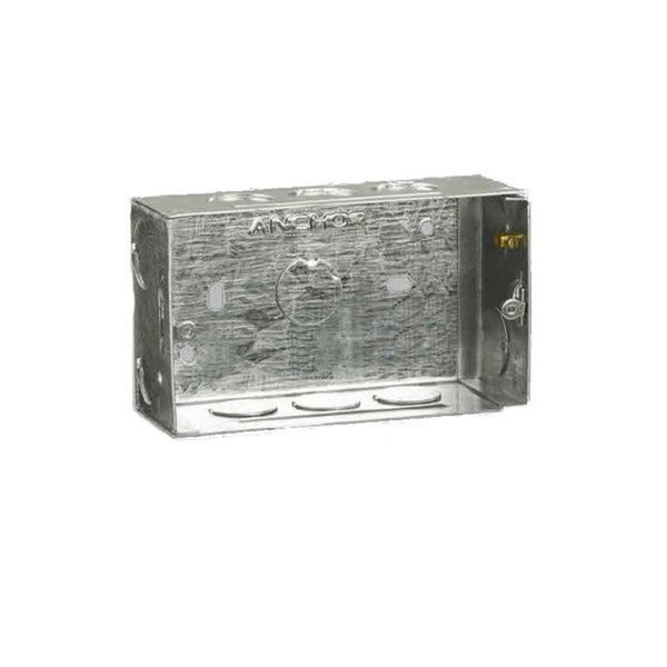 Anchor Penta Concealed Galvanised Metal Boxes(20 Gauge)