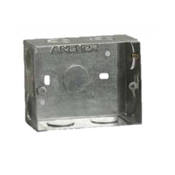 Anchor Penta Concealed GI Metal Boxes(16 Gauge)