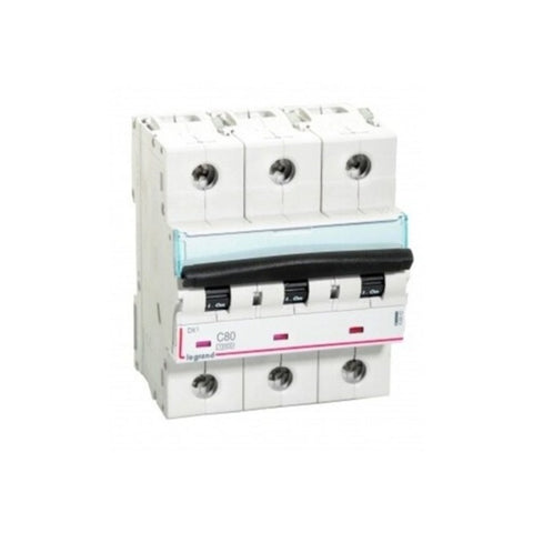 Legrand DX3 MCBs Triple Pole 400 V 80 A – 125 A