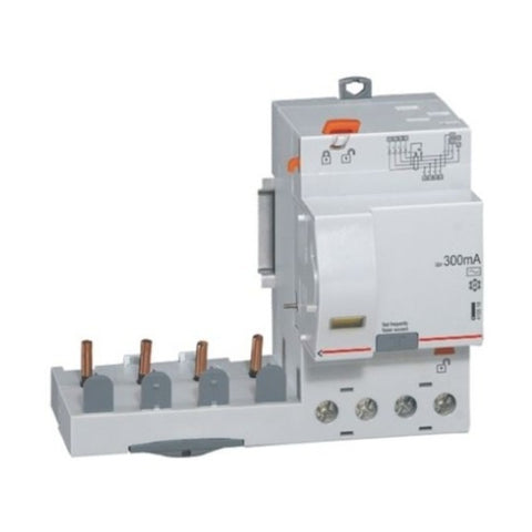 Legrand DX3 125A RCD AC Type Four Pole 415V 4106 26