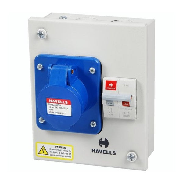 Havells IP40 Solution With Insulated Plug And Socket 16A-32A