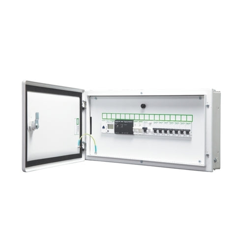 Schneider Double Door SPN Distribution Board IP43