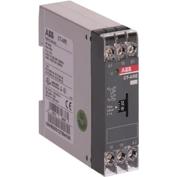ABB 1 c/o Contact 1 LED Time Relay CT-ARE
