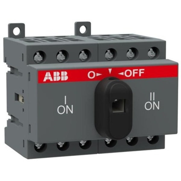ABB OT Manual Changeover Switch Three Pole 16A-125A
