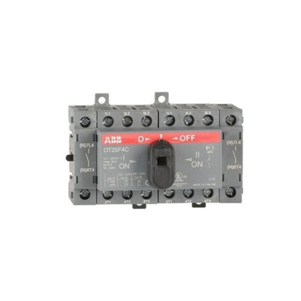 ABB OT Manual Changeover Switch Four Pole 16A-125A