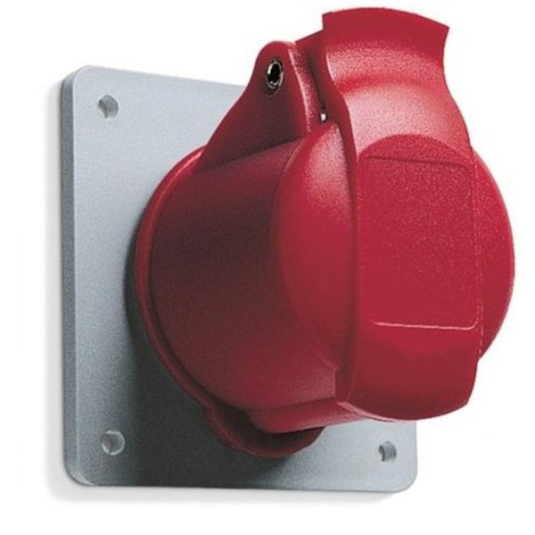 ABB IP44  Panel Mounted Socket - Unified Straight Flange Five Pole