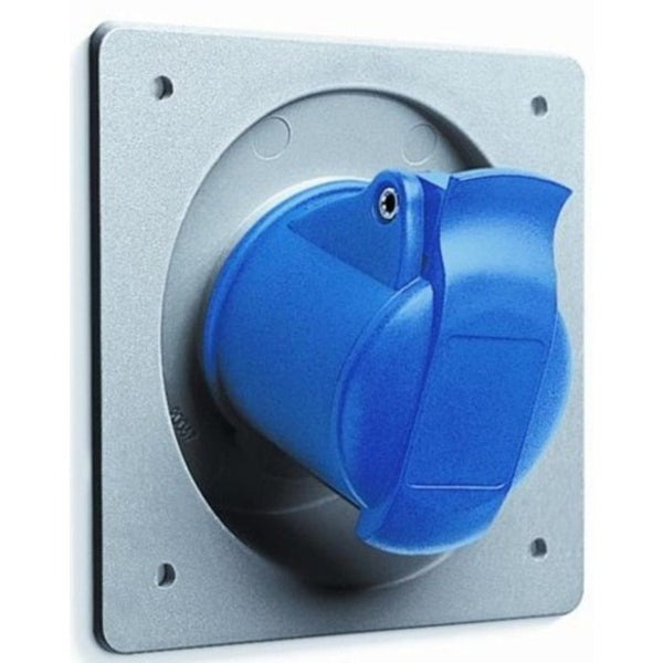 ABB IP44  Unified Angled Flange Panel Mounted Socket Three Pole