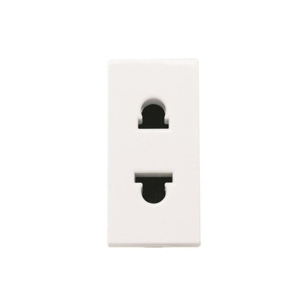 ABB Zenit Euro American Unearthed Socket Outlet 1M 2CLA213500N1102